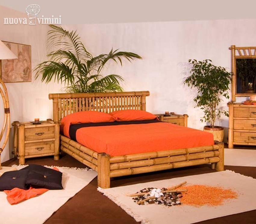 Letto in bambu idee per la casa - Letto in bambu ...