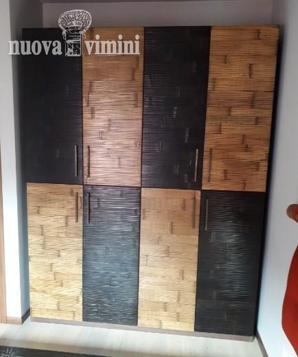 Armadio alum bambu miele black 4 piu 4 ante: Prezzi, Offerte