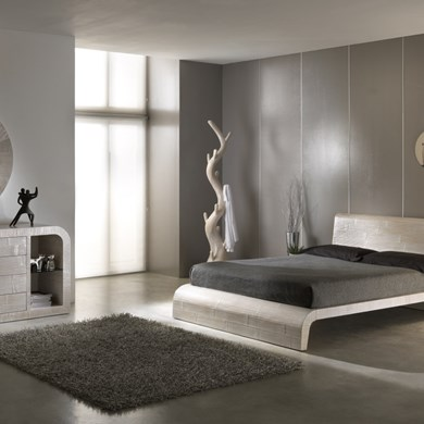 Letto etnico in crash bamboo