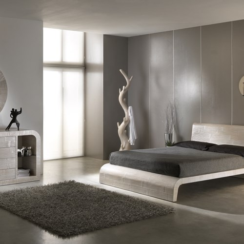 Letto etnico Wave in crasc bamboo
