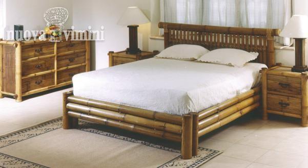 Sogno bambu camera da letto - Mobili in bambu ...