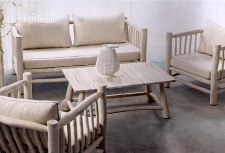Salotto shael bianco prezzi offerte for Salotto bianco