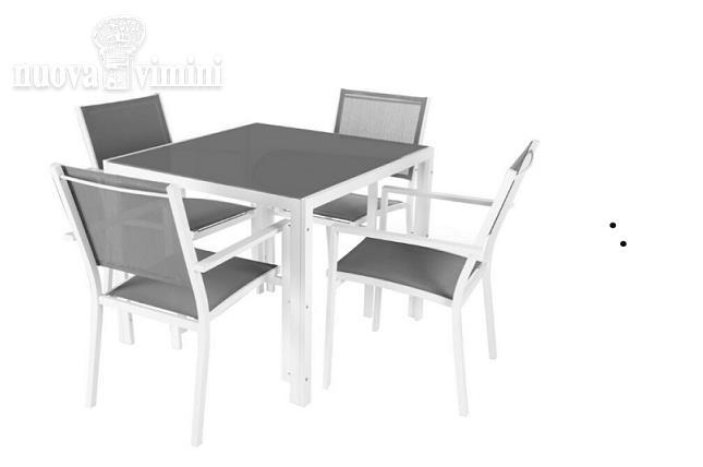 Tavolo e sedie alluminio e textilene es.: Prezzi, Offerte