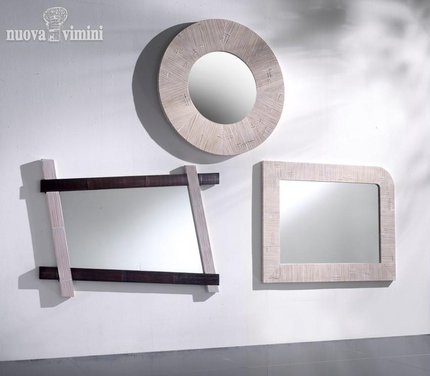 Specchi bianchi nuova vimini - Specchi on line ...