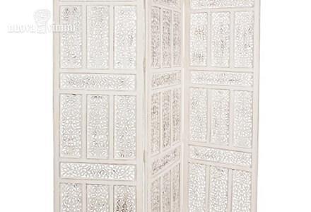 Separe\' legno traforato decapato bianco: Prezzi, Offerte
