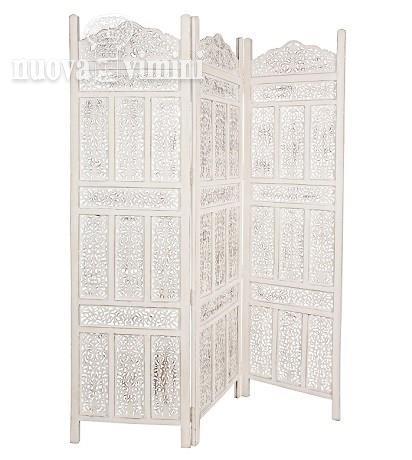 Separe 39 legno traforato decapato bianco prezzi offerte - Separe prezzi ...