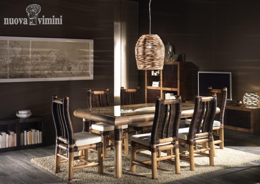 Sala da pranzo surya nuova vimini - Sale da pranzo contemporanee ...