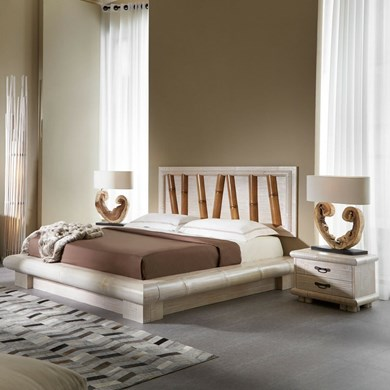 Letto in bambu crash