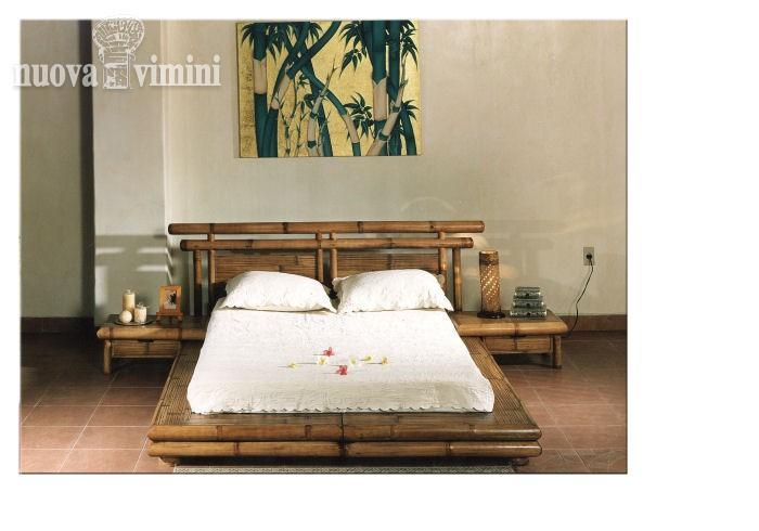 Camera Da Letto Etniche Foto : Letto etnico bamboo
