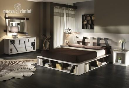 Letto cross  black - white
