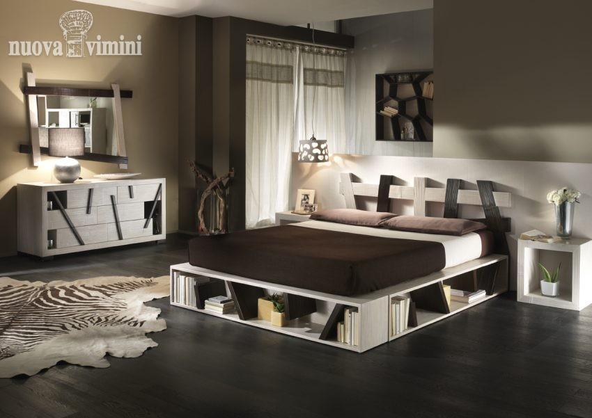 Letto cross black e white nuova vimini for Nuova camera da letto dell inghilterra