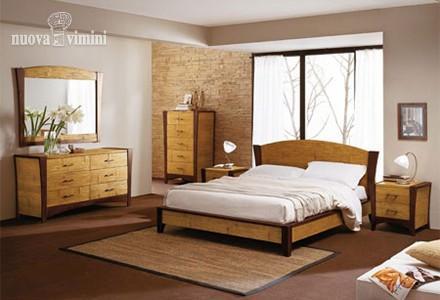 Camera da letto stile etnico nuova vimini for Arredamento etnico padova